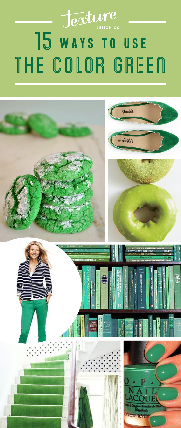 15 Ways to Use the color Green