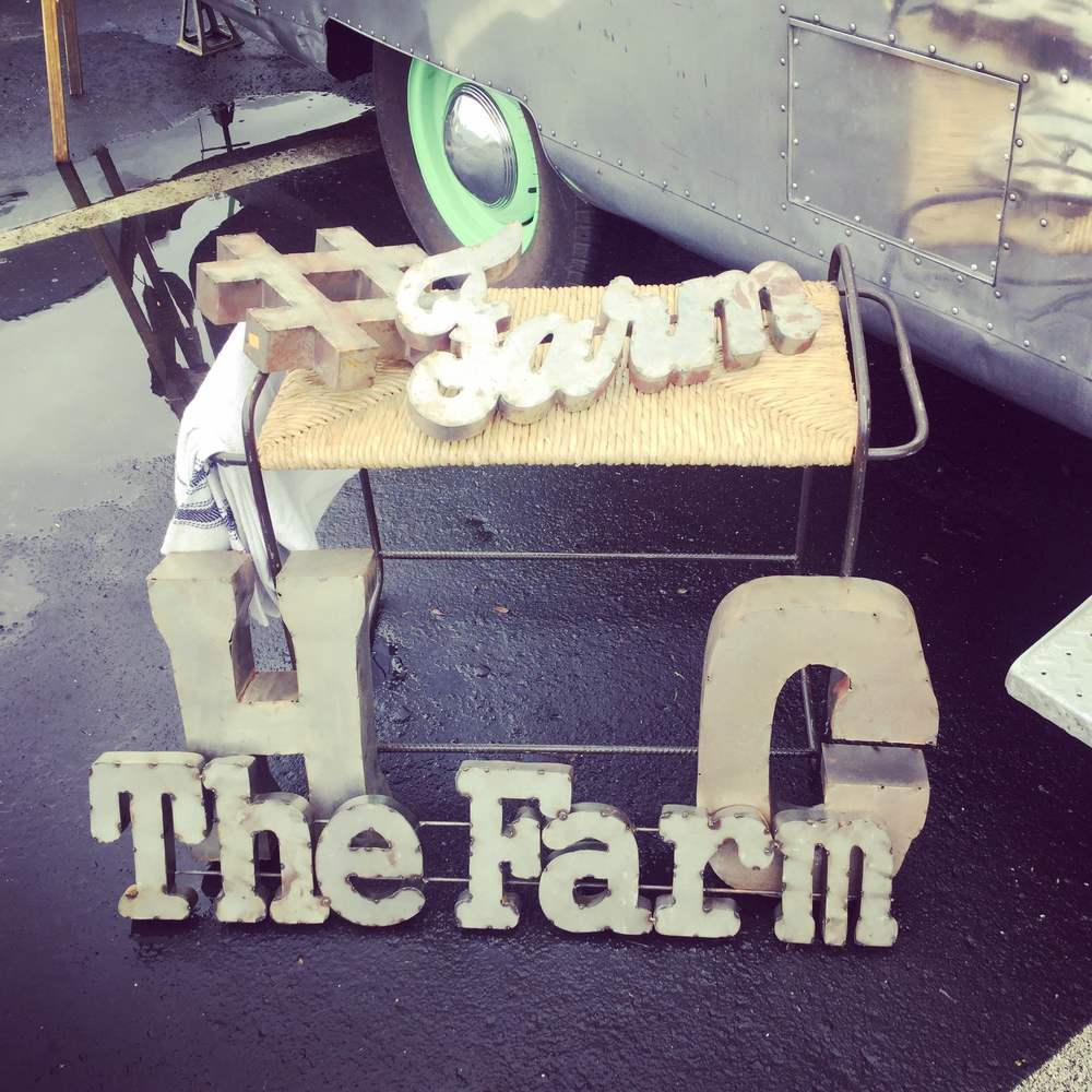 The Farm Sign from Emerson Row