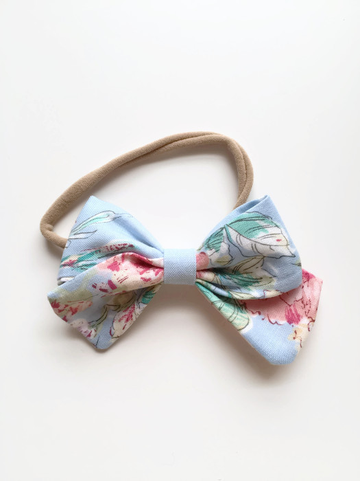 Floral Hair Bow for Toddler