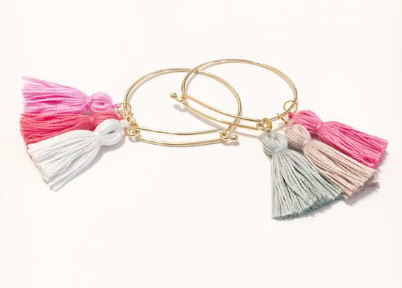 The Anson Tassel Bangle