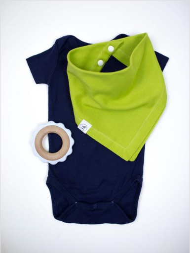 Ollie Bib in Lemongrass