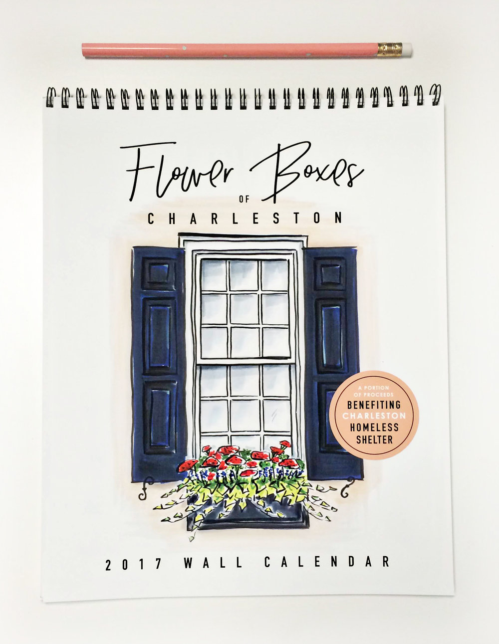 2017 Flower Box Calendar