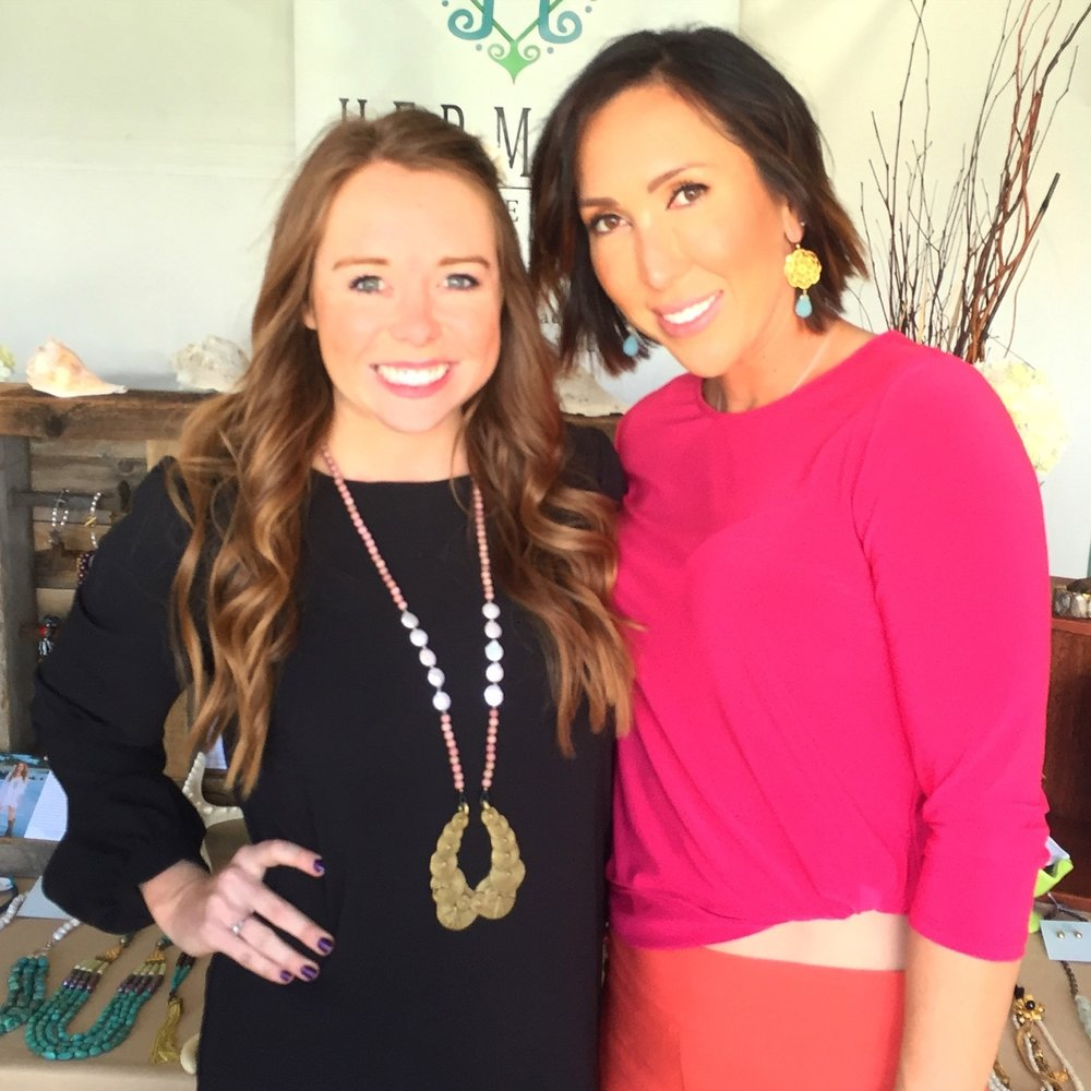 Jelena Jankovic looking amazing in her new Hermosa earrings!