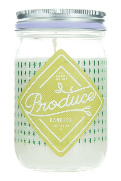 Rosemary Produce Candle made in Charleston, SC
