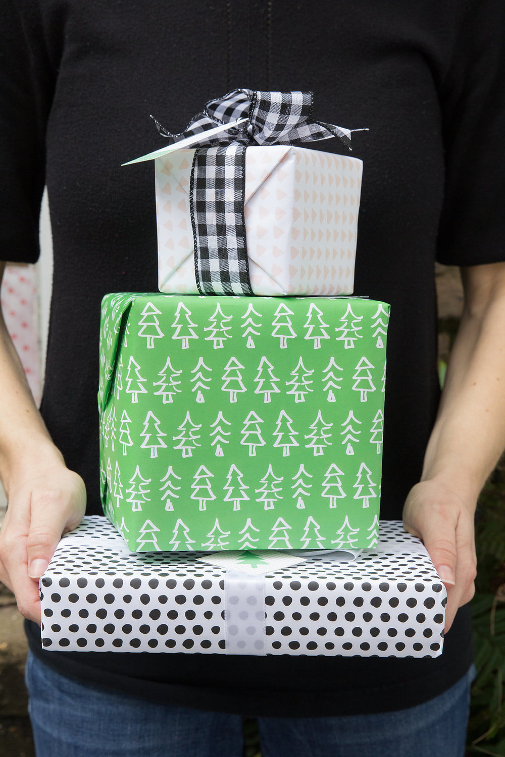 We released a line of bold wrapping papers this year!