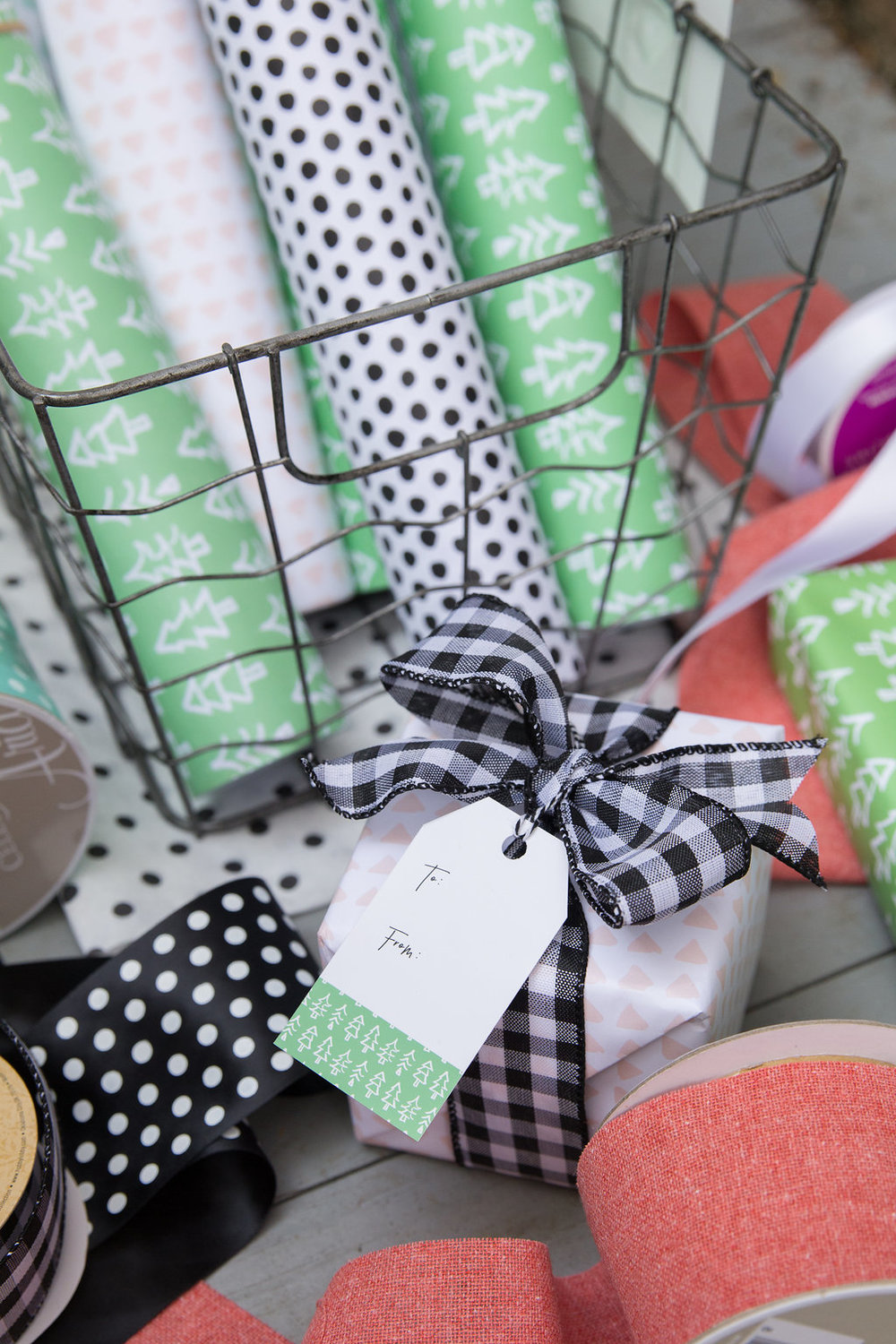 Check out some fun and unique Christmas gift wrap ideas in the blog below!