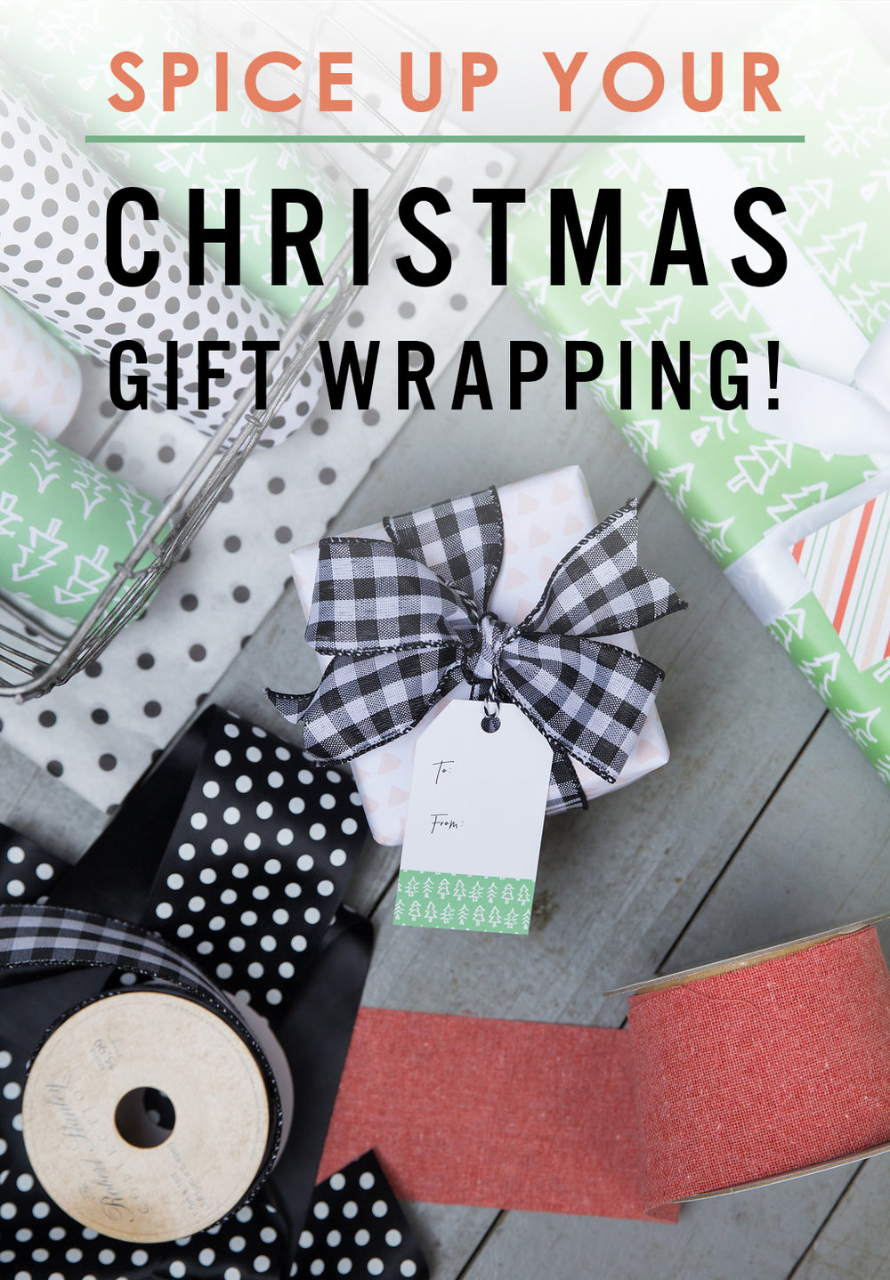 Christmas gift wrap inspiration