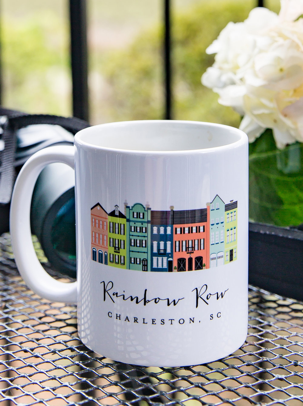Charleston Gift Ideas - rainbow row mug
