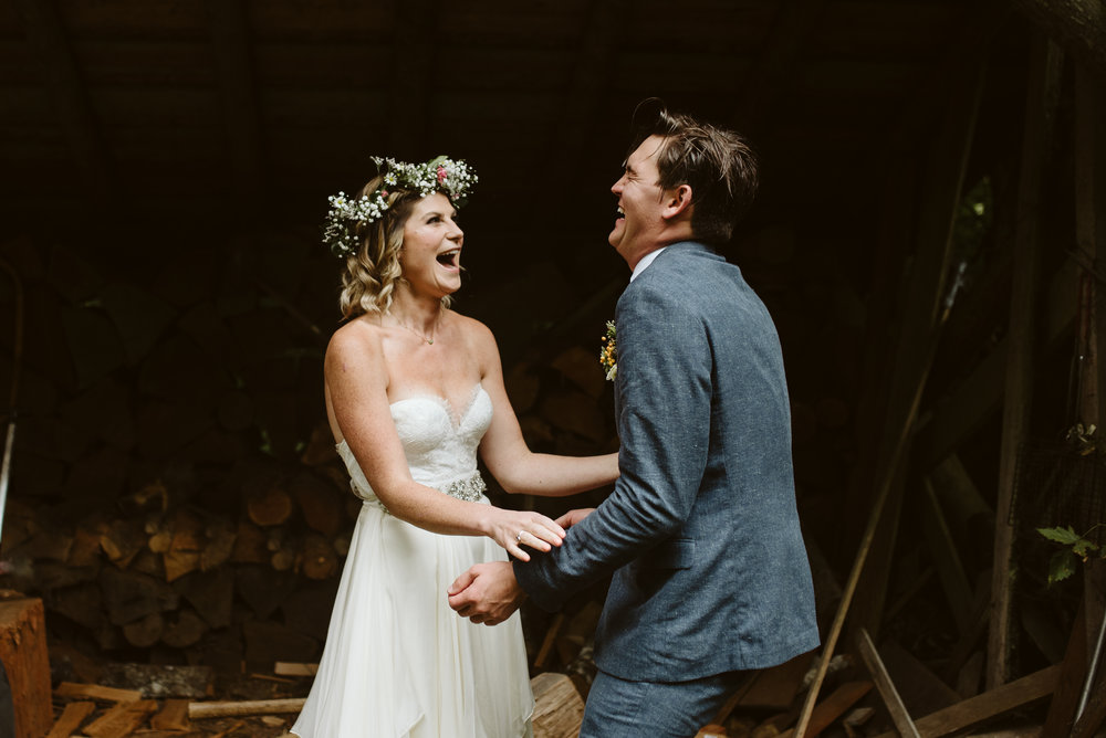 Zach + Shawnee - Boho wedding | Concrete, WA