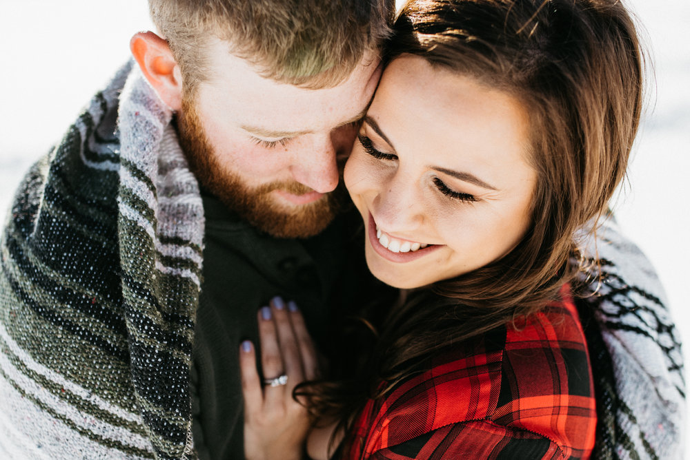Rachel + David - Engagement session | Mt Hood, OR
