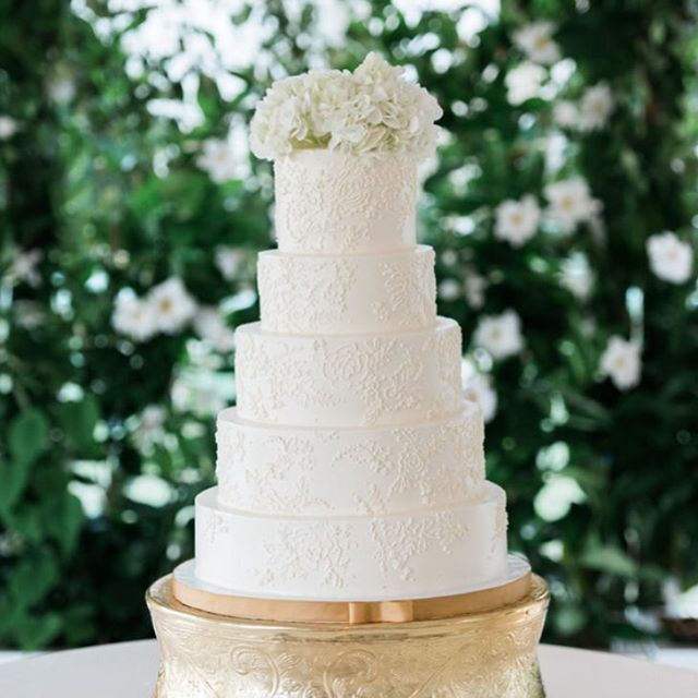5 tiers of yummy from scratch cake! 📸 @virgilbunao #abcdcakes #abcdcakemake #charleston #charlestonwedding #charlestonbride #charlestonbakery #charlestoncake #charlestonbakes #buttercream #weddingcake #imsomartha #marthastewartweddings #chseats #holycityeats #bestdayever #girlboss #letthemeatcake