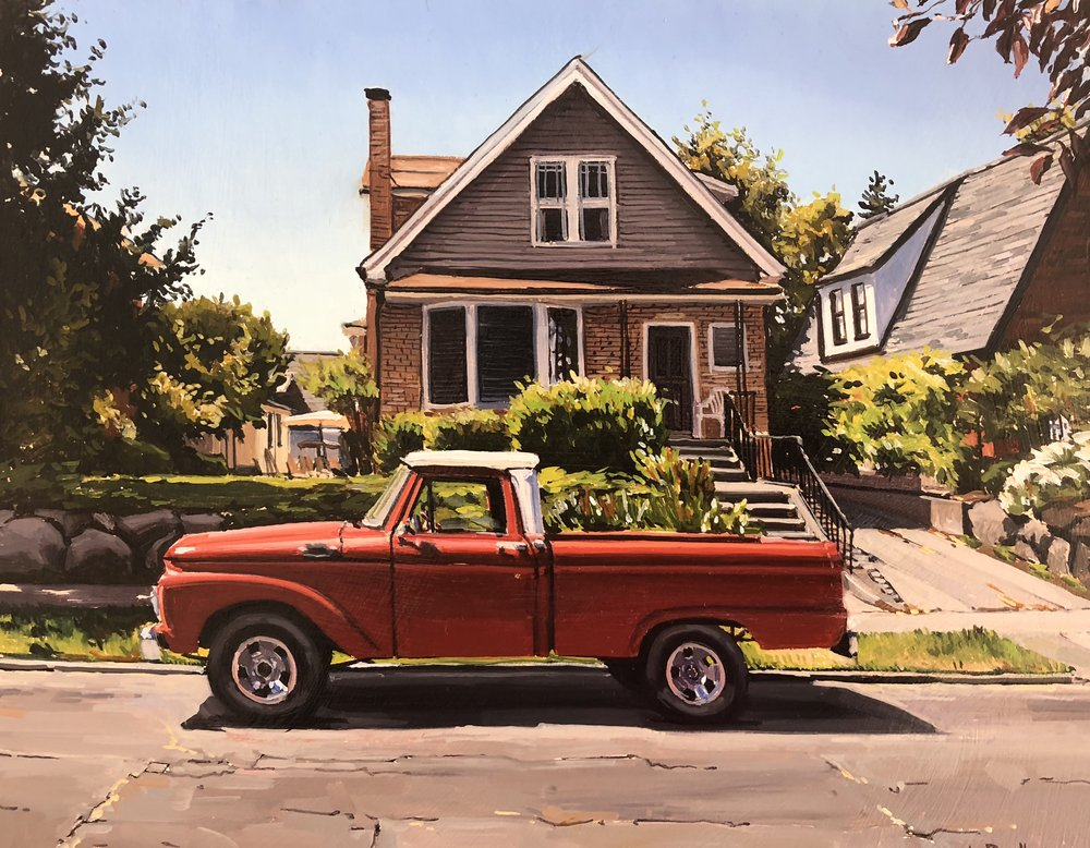 Queen Anne Pickup
