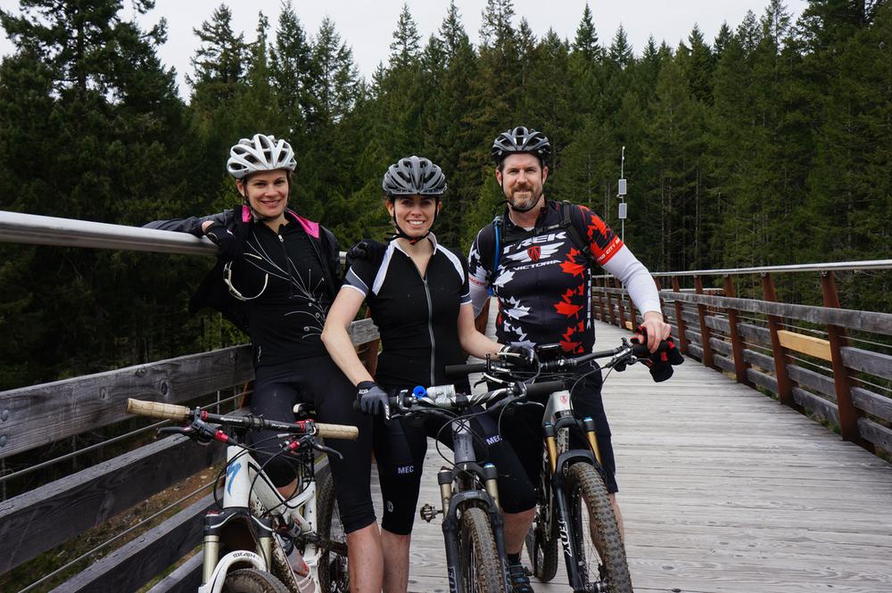 Friends + Bikes + New Trails = Winning