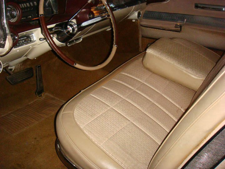 The original interior...