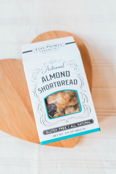 Artisanal Almond Shortbread | Five Points Baking Co. | Raleigh