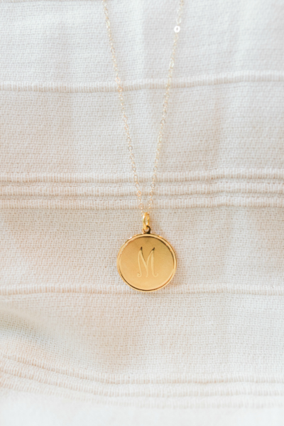 """Dalton"" Personalized Charm Necklace 
