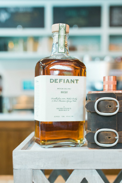 Defiant Whiskey | Blue Ridge Distilling Co. | Golden Valley