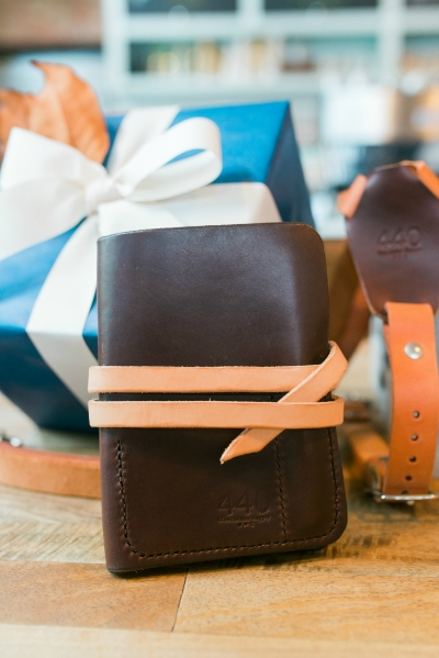 Leather Work Wrap | 440 Gentleman Supply | Raleigh