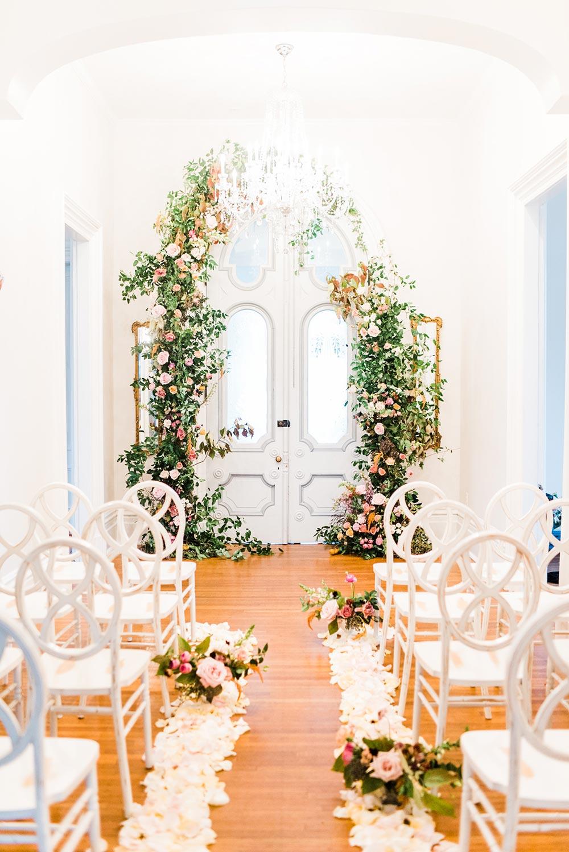 Ruffled Blog   Modern Femme Wedding Inspiration in a Historic Estate