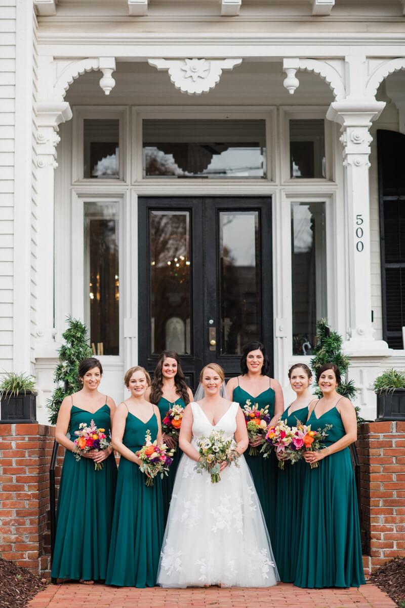 The Carolinas Magazine   Raleigh Wedding At Merrimon Wynne