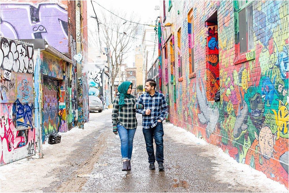 Graffiti-Alley-U-of-T-Engagement-Session-Toronto-Mississauga-Brampton-Scarborough-GTA-Pakistani-Indian-Wedding-Engagement-Photographer-Photography_0005.jpg