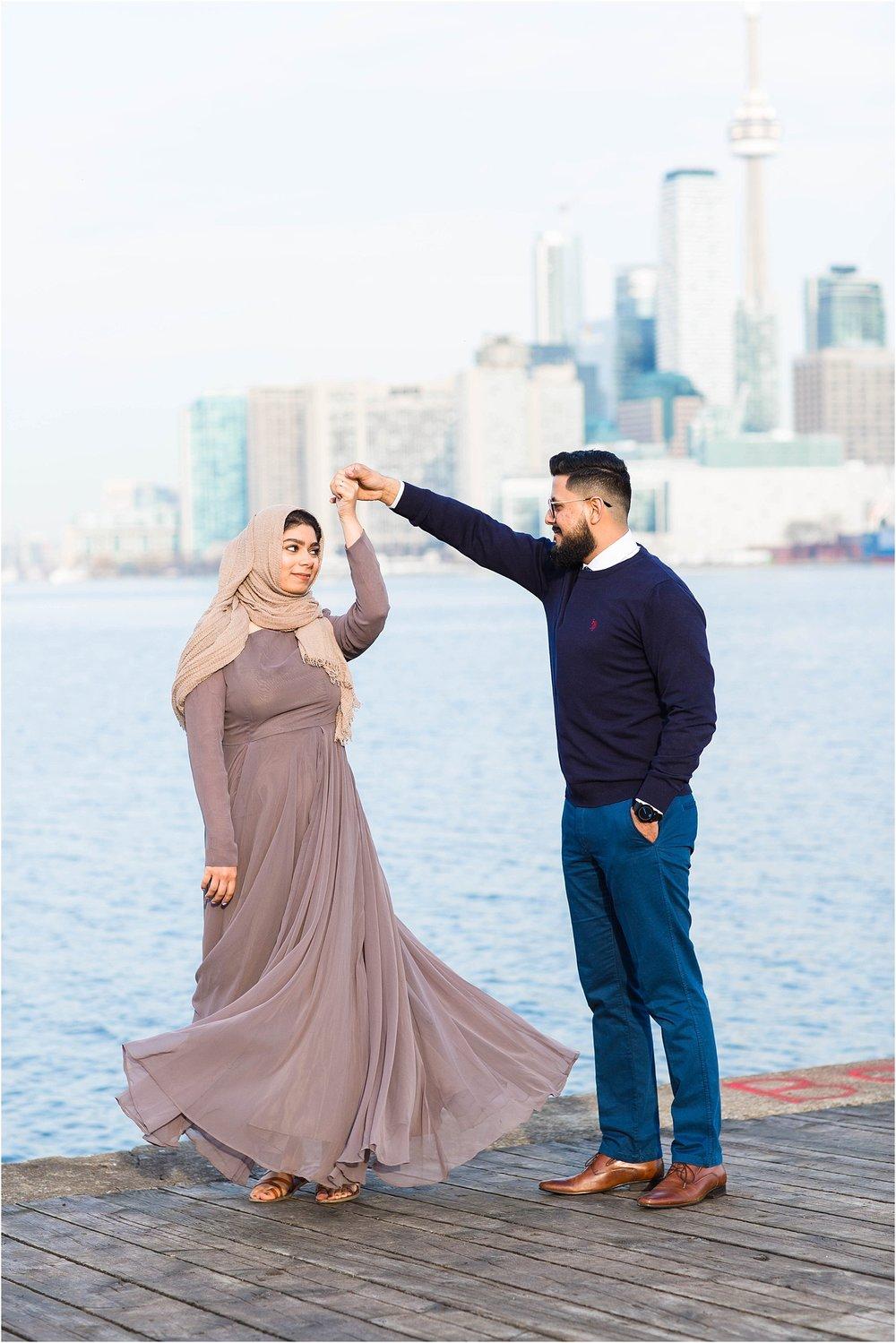 Polson-Pier-Distillery-District-Engagement-Session-Toronto-Mississauga-Brampton-Scarborough-GTA-Pakistani-Indian-Wedding-Engagement-Photographer-Photography_0012.jpg