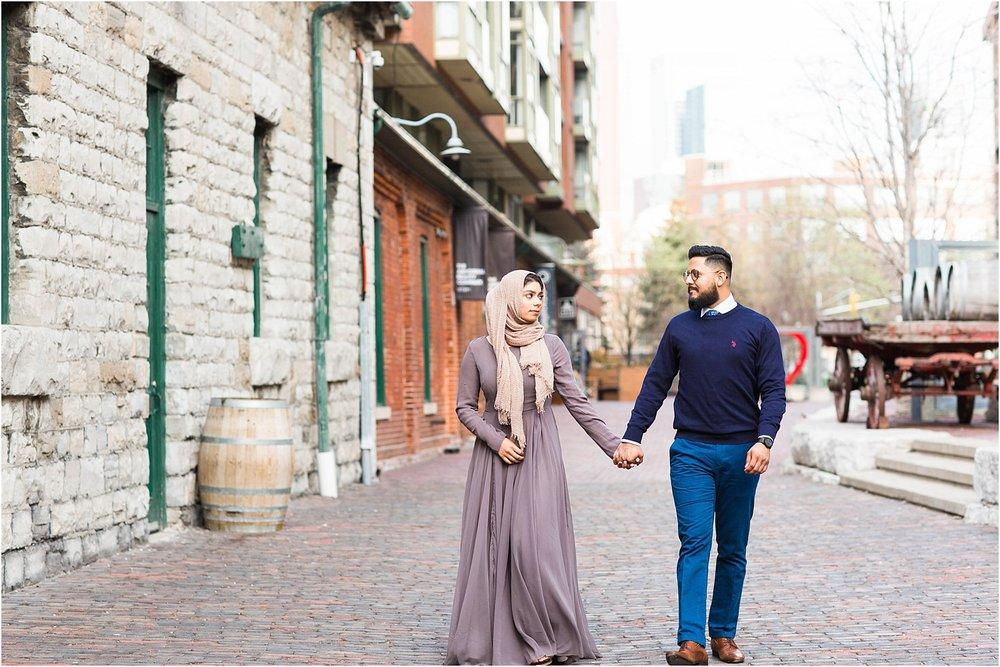 Polson-Pier-Distillery-District-Engagement-Session-Toronto-Mississauga-Brampton-Scarborough-GTA-Pakistani-Indian-Wedding-Engagement-Photographer-Photography_0021.jpg