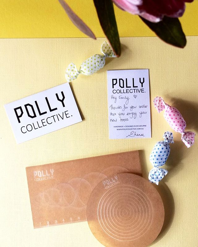 〰️ MAIL MONDAY'S 〰️ You may have noticed I haven't been doing much polymer clay making lately and that's for a whole bunch of reasons and excuses but I just haven't been feeling it for a while now.. so I bought these rad polymer clay tools from the fab Sheree @pollycollective - tools she has designed and has had made! I cannot wait to start using them and see where my making and ideas take me now! Let the making begin 🙌🏻 (and peel the backs off the acrylic)