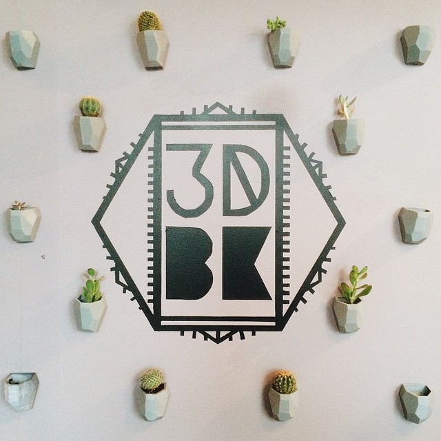 Same Wall New Plants #3DPrinted #3DPrinting #3DBrooklyn #3DBK #Design #Brooklyn #ProductDesign