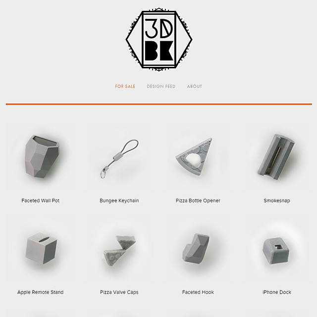 We've added + updated! Link in bio - 3DBROOKLYN.com    #3DPrinted #3DPrinting #3DBrooklyn #3DBK #Design #Brooklyn #ProductDesign