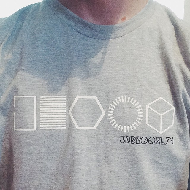 3DT-SHIRT #3DPrinted #3DPrinting #3DBrooklyn #3DBK #Design #Brooklyn #ProductDesign