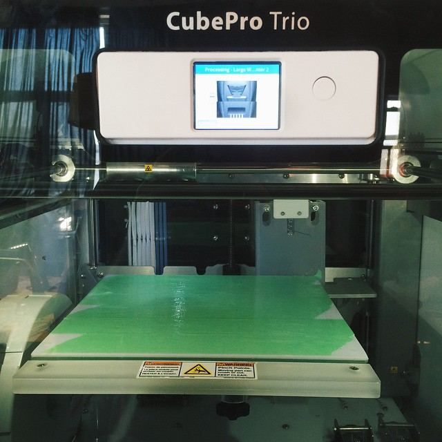 36 hour weekend print #3DPrinted #3DPrinting #CubePro #Cubify #3DSystems