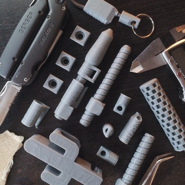 Endless Refinements    #3DPrinted #3DPrinting #3DBrooklyn #Cubify #Design #Brooklyn #GerberGear
