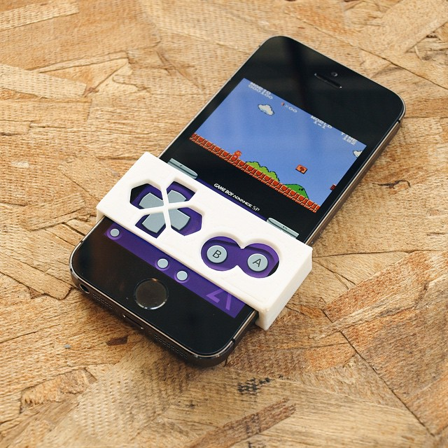 Eyes on the game    #3DPrinted #3DPrinting #3DBrooklyn #Gameboy #Emulator