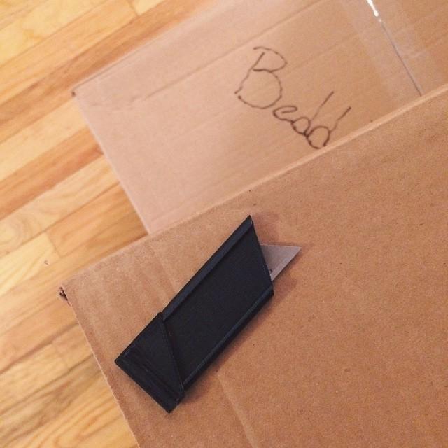 A lifesaver on moving day    #3DPrinted #3DPrinting #3DBrooklyn #Cubify #Design #Brooklyn #ProductDesign