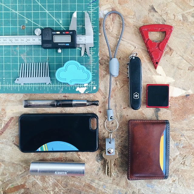 never without #3DDesign #Custom #Handmade #EDC #EveryDayCarry #HandDump #PocketDump