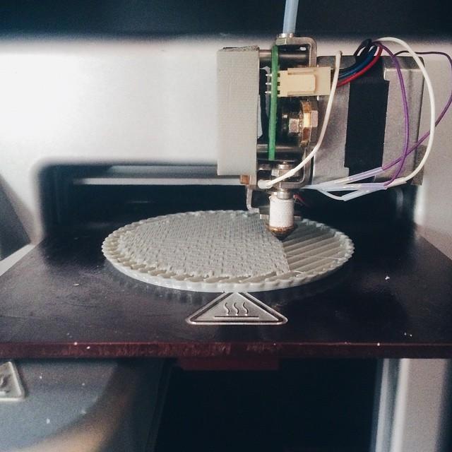 ♨️    #3DPrinted #3DPrinting #3DBrooklyn #Cubify #Design #Brooklyn #ProductDesign