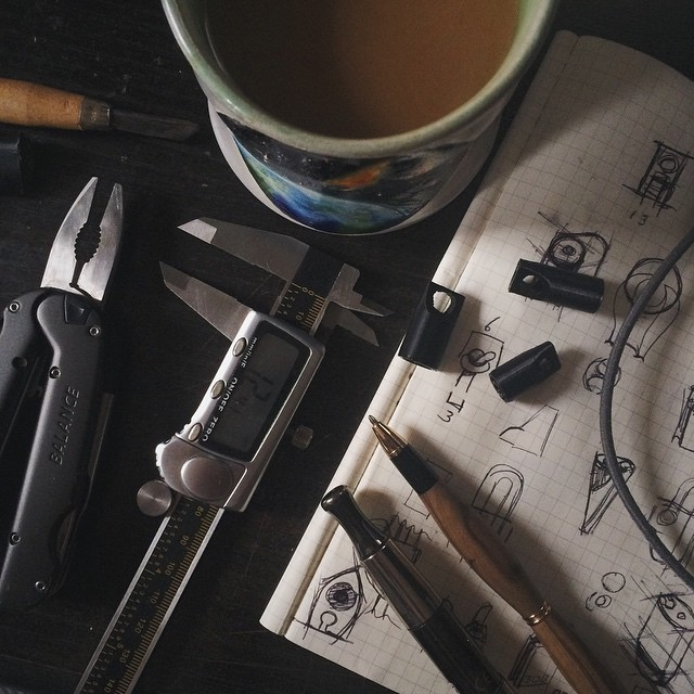 Inspiration hour ☕️✒️     #3DPrinted #3DPrinting #3DBrooklyn #Cubify #Design #Brooklyn #ProductDesign
