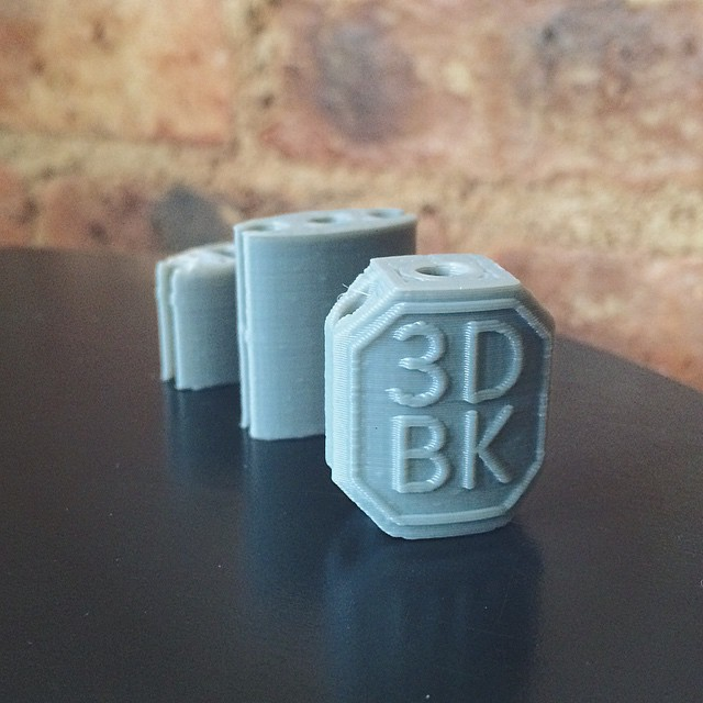 Prototype to product in 24 hours    #3DPrinted #3DPrinting #3DBrooklyn #Cubify #Design #Brooklyn #ProductDesign