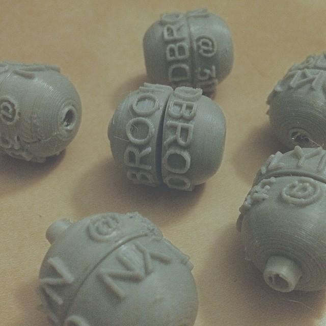 Into the print graveyard 💀 #3DPrinted #3DPrinting #3DBrooklyn #Cubify #Design #Brooklyn #ProductDesign