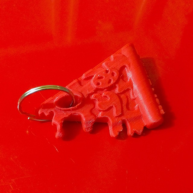 For the cool guys of @toypizza 😎    #3DPrinted #3DPrinting #3DBrooklyn #ToyPizza #Toy #Pizza
