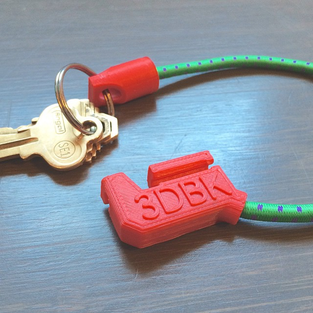 Use your keys without ever taking them off 🍸🍺🍹🔐    #3DPrinted #3DPrinting #3DBrooklyn #3DBK #Design #Bungee #ProductDesign (at  WWW.3DBROOKLYN.COM )