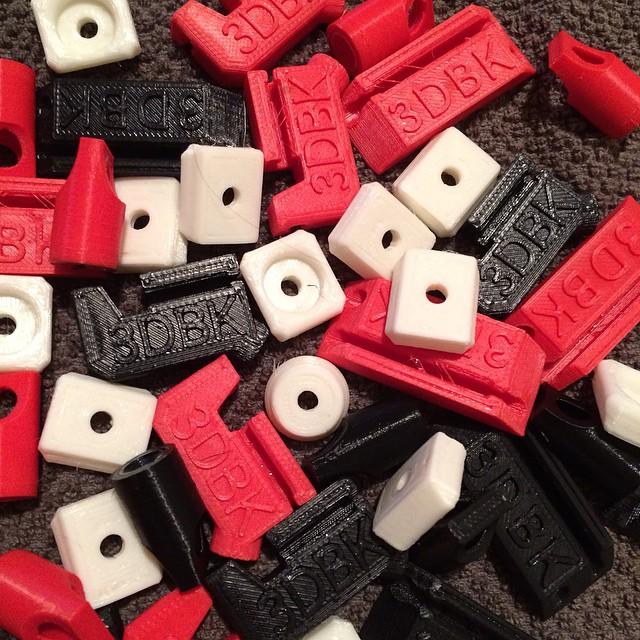 Bits & Pieces    #3DPrinted #3DPrinting #3DBrooklyn #Cubify #Design #Brooklyn #ProductDesign