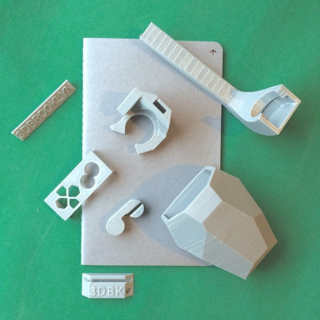 new notebook | new ideas    #3DPrinted #3DPrinting #3DBrooklyn #Cubify #Design #Brooklyn #ProductDesign