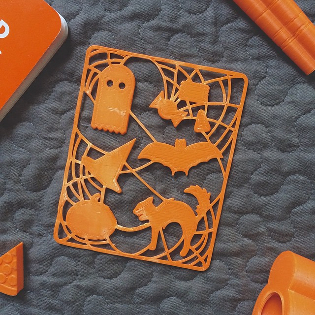 👻 #3DPrinted #3DPrinting #3DBrooklyn #Spooky #Design #Boo #Halloween