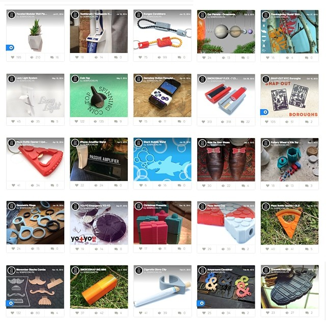 Here are all my free files available for downloading and printing from @thingiverse. If you don't have a printer check out my website    #3DPrinted #3DPrinting #3DBrooklyn #Makerbot #Design #Thingiverse #OpenSource #Download #ProductDesign