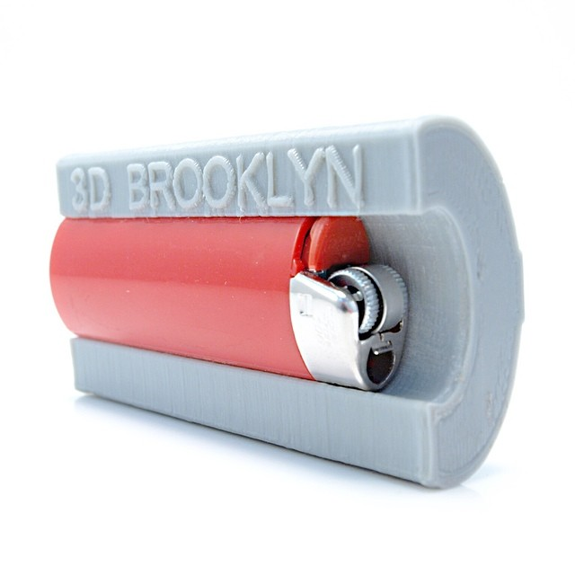 Forget about forgetting your lighter | Holds 7 Cigarettes | Available on 3DBrooklyn.com