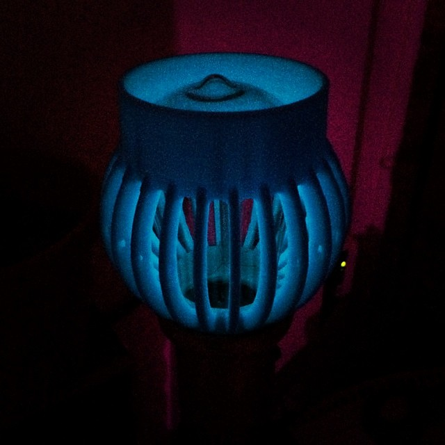 #glowinthedark #3DPrinted Lampshade