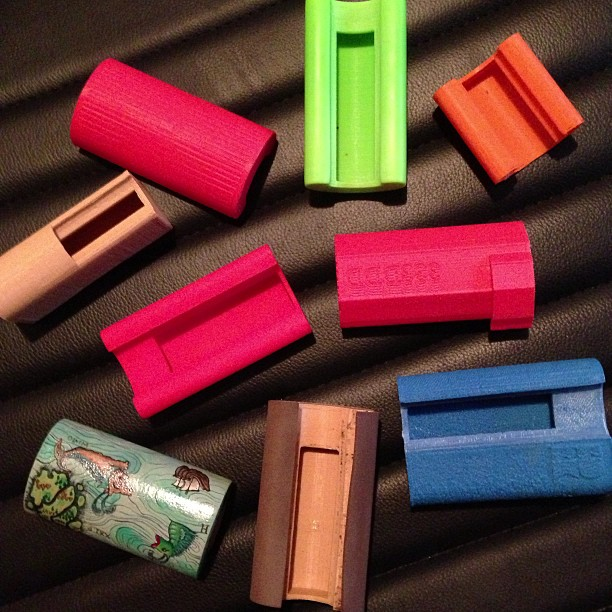 SMOKESNAP prototypes #plastic #cigarette #smoking #smoke #lighter #case #pizza #beer #cycle #3D #model #3Dprint #3Dprinter #3dprinted #cubify #3dsystems #makerbot #shapeways #thingiverse #shapeways #etsy #bicycle #bike #fixed #fixedgear #fixie #igers #design #instadaily #nyc #brooklyn #custom #nyc