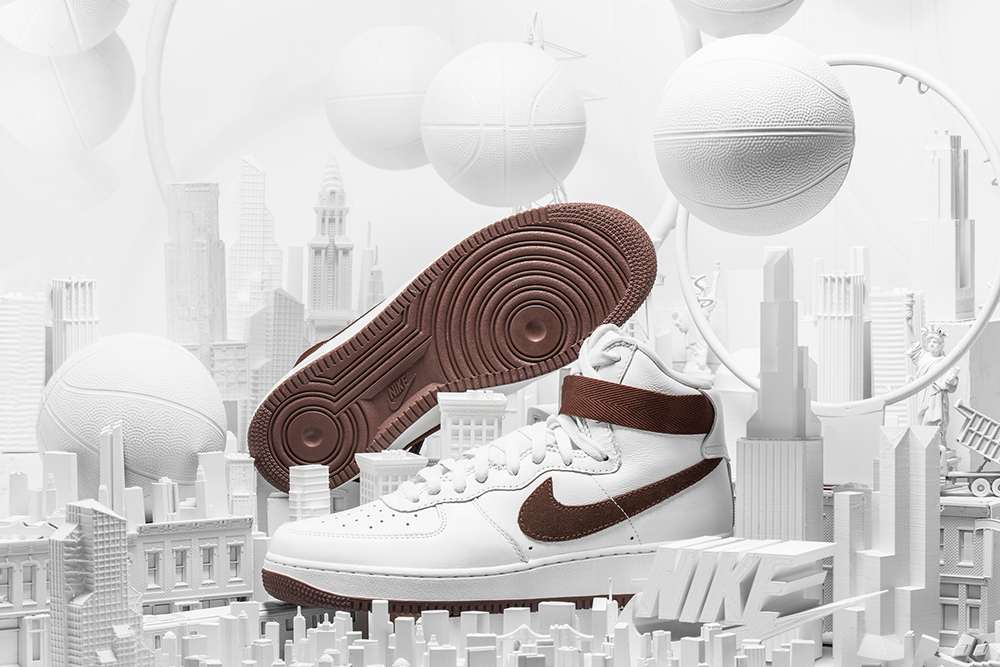 Nike 3d printed props Madbury Club